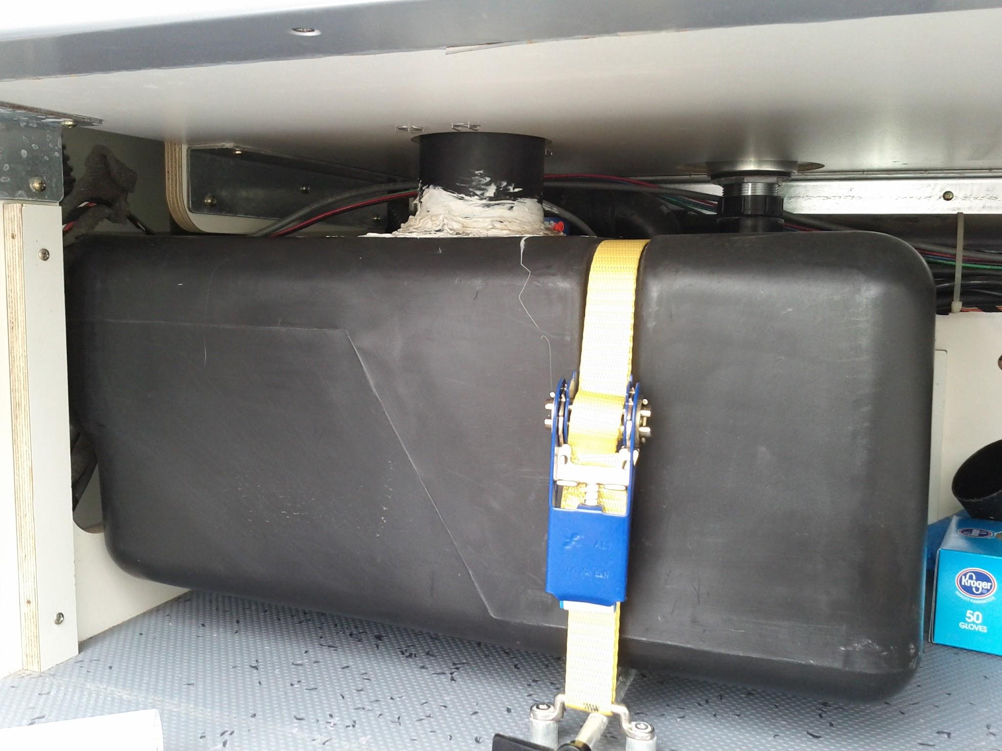 Black water system replacement » Sprinter Westfalia