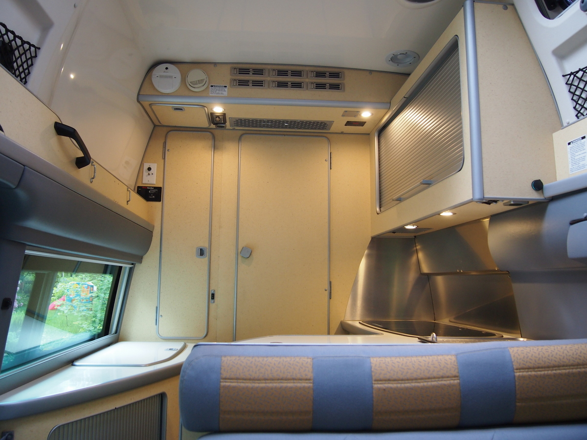 Interior pictures of my van for sale sprinter westfalia for Interior westfalia