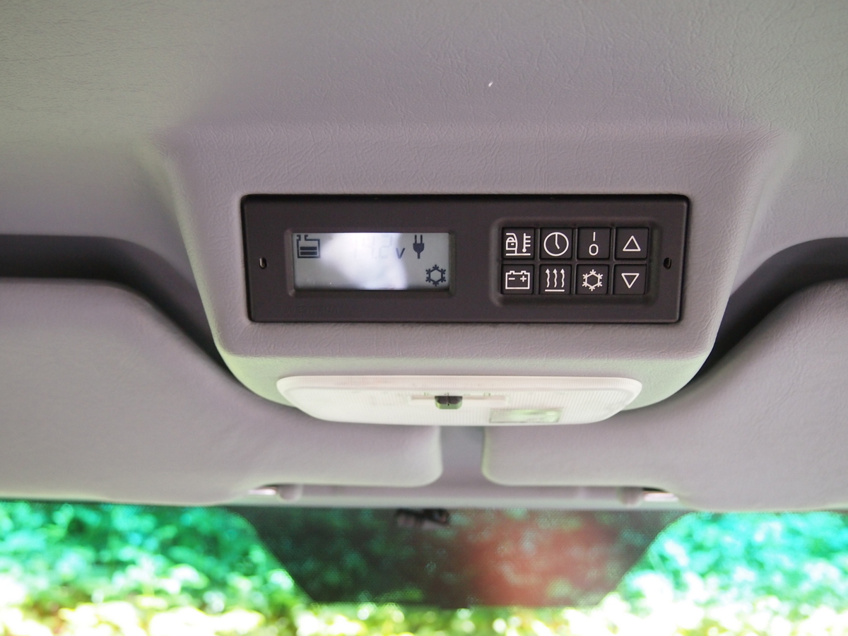Airstream Sprinter Westfalia interior